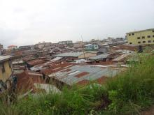 Visiting the slum of Oworonshoki in Lagos